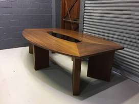 Large Wooden Boardroom Table , A21469