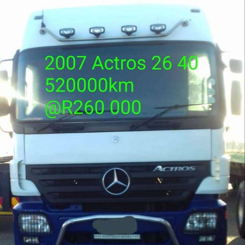 2007 Actros 26 40 0