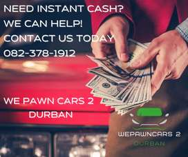Cash loan on your paid off car
