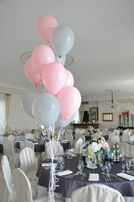 Balony z helem, dodatki weselne