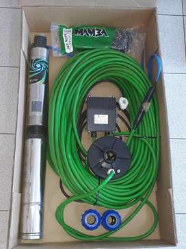 Brand New Stairs Borehole Pump Kit 70m 1.1kW / 1.5Hp