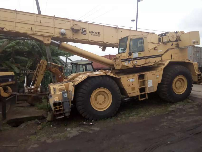 Foreign used Grove crane RT990 90tons 0