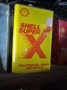 Shell old 5L can, in very good condition