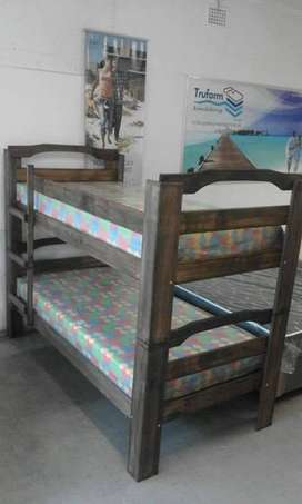 Double bunk Beds with mattresses R2999-(YOU CAN PAY AT HOME)