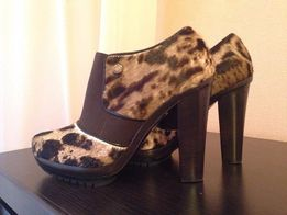 Ботинки ботильоны туфли осенние Alberto Gozzi кожаные, Итальянские!