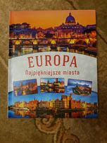 Książka Europa najpiękniejsze miasta. Nowa