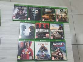 Xbox One Games for sale. R150 each