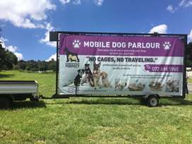 Advertising / Banner trailer for sale