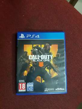 PS4  CALL OF DUTY BLACK OPS 4   ONLY  MONTHE ND  SPECIAL