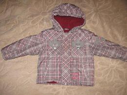 Демисезонная куртка на флисе р. 80