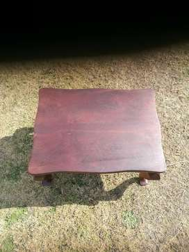 Solid Imbuia coffee table for sale