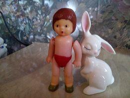 Пупс редкий (кукла СССР), Нахабино, 70-е годы, девочка, винтаж