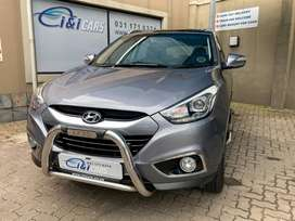 Reliable Hyundai ix35 in Good Condition