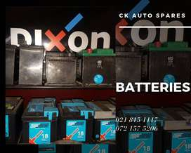 Batteries for sale.