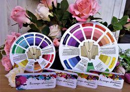 Цветовой круг для дизайнеров и художников от производителя!
