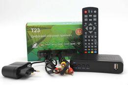 КОМПЛЕКТ ! Тюнер Т2+WI-Fi антенна+MEGOGO+IPTV+YouTube+Кинозал+др.