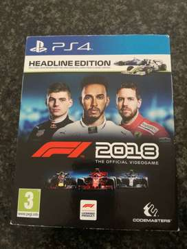 PS4 F1 2018 Game For Sale