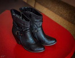 Ботинки полусапожки женские 39 - 40