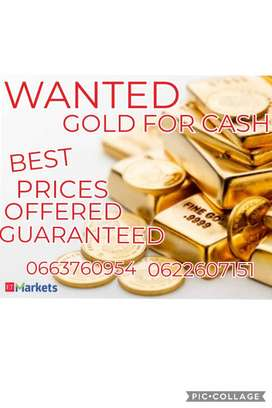 YOUR TREASURES WANTED - GOLD & KRUGER RAND