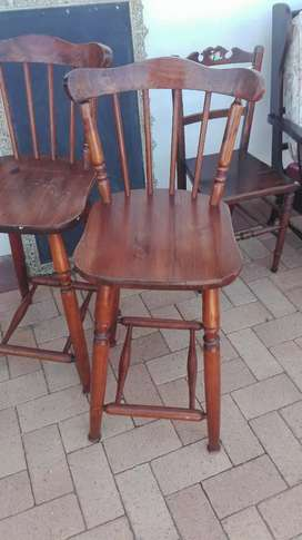 Set of origin bar chair