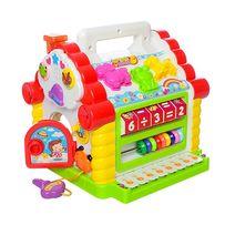 Развивающая музыкальная игрушка теремок 9196 сортер