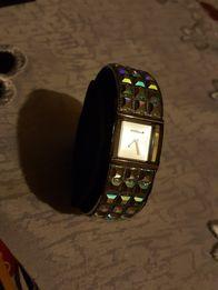 Zegarek Accu 2 bransoletka damski mieniący sie lustra lustro