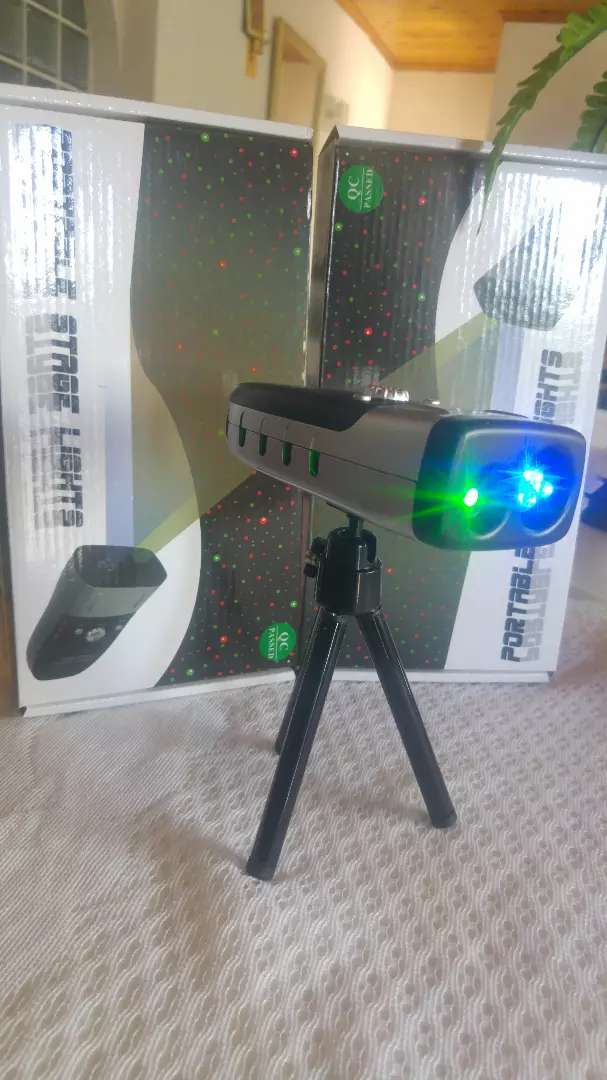 Portable stage lights. Rechargeable