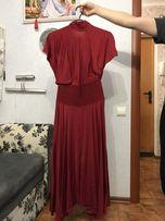 Вечернее платье Vionnet оригинал, красное (вечірня сукня оригінал)