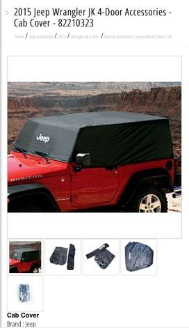 Jeep Cab Cover For sale