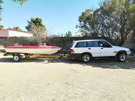 Ssonyung musso project with boat and trailer for sale