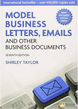 Model Business Letters, Emails and Other Business Documents, Taylor