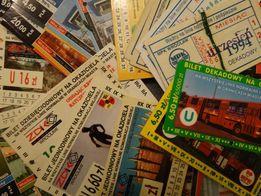 Bilety wrocławskie - okazjonalne od 1992 roku
