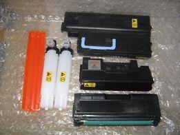 6 pustych tonerów (pojemników) + różne - TONERY