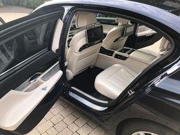 Auto do ślubu najnowsze BMW 740 LANG