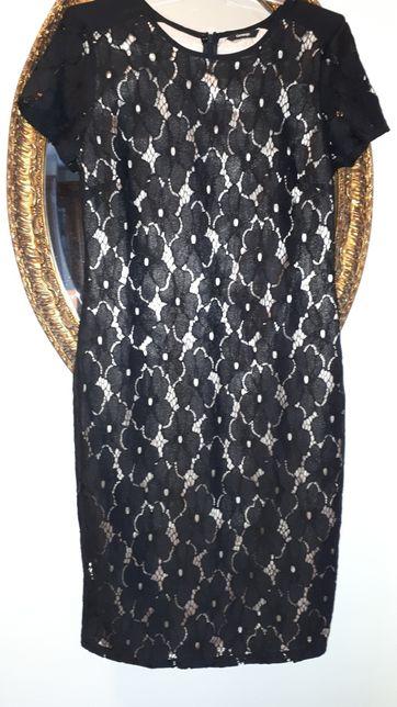 Sukienka koronka czarna s/M George Zielona Góra - image 1