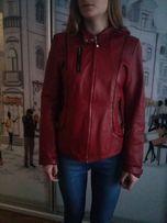 Кожаная куртка 44 размер