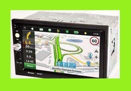 "Автомагнитола 2Din Pioneer 7022 CRBG 7"" IPS 1024*600 GPS, Bluetooth, +"