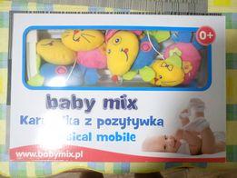 Детский музыкальный мобиль на кроватку /made in Poland/