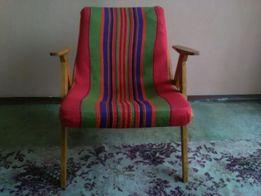Niespotykany fotel lata 60- te, perełka nie wymaga renowacji!!!