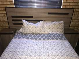 Headboard and mirror for sale
