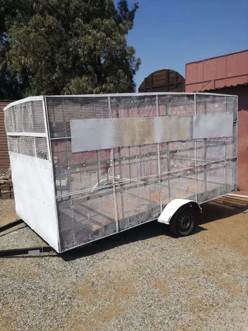 Cage Trailer for sale 0