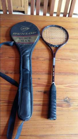 Vintage Dunlop Black Max Squash Racket (SALE MUST GO ITEM )