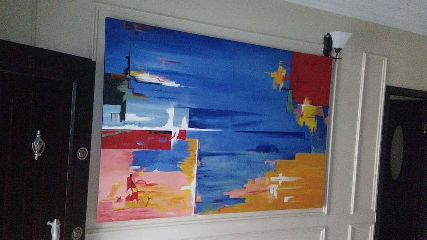 Abstract painting 0