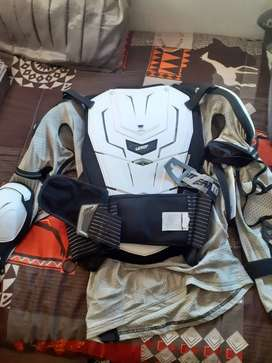 Leatt protector and FLY racing pants for sale