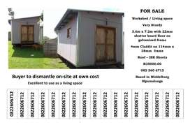 Tool shed / living space / workshop for sale