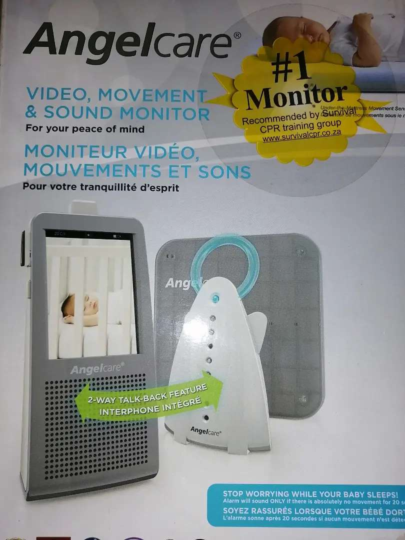Angel care video baby monitor
