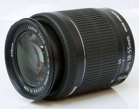 Canon EF-S 18-55mm f/3.5-5.6 IS (IMAGE STABILIZER) STM Camera Lens for