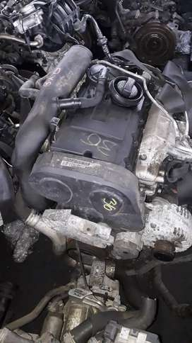 Another 2.0l Bkd golf 5 engine being stipped