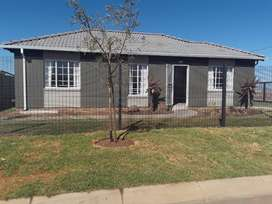 Newly built houses for sale.