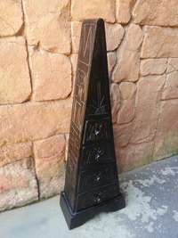 Triangular Carved Drawer Unit (340xH980), used for sale  South Africa